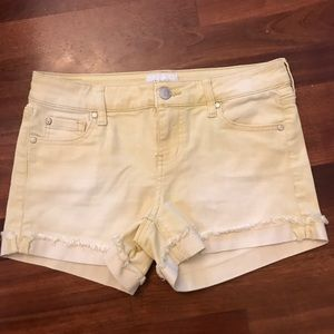 New celebrity pink yellow shorts 26 3